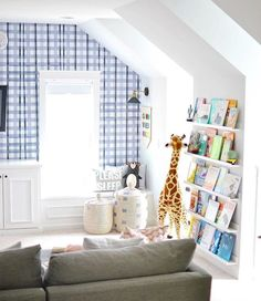 Playroom Kids Book Bookshelf Displaying books is the best way to make them attra. - Playroom Kids Book Bookshelf Displaying books is the best way to make them attractive to the kids a - Playroom Design, Teen Playroom, Bedroom Paint Colors, Playroom Paint Colors, Farmhouse Design, Coastal Farmhouse, Farmhouse Homes, Project Nursery, Pottery Barn Kids