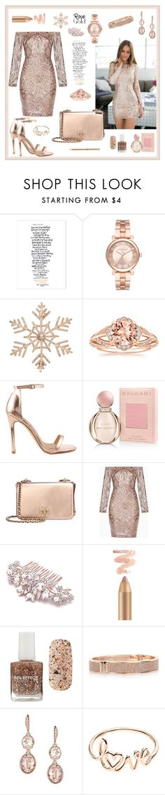 """""""Golden Girl"""" by majalina123 ❤ liked on Polyvore featuring Michael Kors, John Lewis, Liliana, Bulgari, Tory Burch, BCBGMAXAZRIA, Forever 21, River Island, Givenchy and Chopard"""