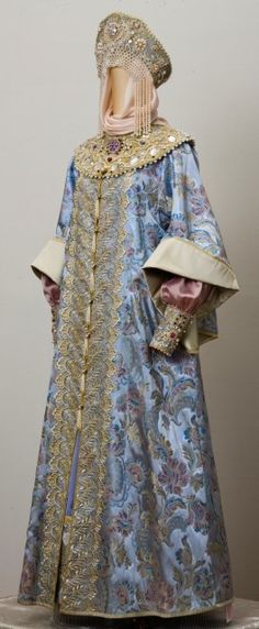 Traditional costume of Russian aristocrats.