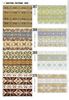 Книга 1000 узоров — Yandex.Disk Knitting Paterns, Fair Isle Knitting Patterns, Knitting Charts, Knitting Stitches, Knitting Designs, Sock Knitting, Knitting Tutorials, Vintage Knitting, Free Knitting