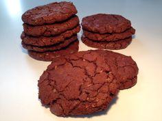 Store amerikanske chokolade cookies - Opskrift-kage.dk