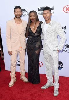 Jussie Smollett and Yazz (Bryshere Gray) (2015 Billboard Music Awards)