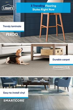 Lowe's can install a variety of stylish flooring upgrades you'll love for years to come! Shop our selection now.