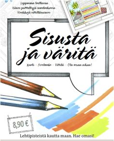 Finally an unique coloring book! Just color the interiors you would like to live in. This cute coloringbook contains also lovely stories behind the pictures and easy information behind the meanings of the colors. Beautiful pictures are drawn by hand an interior designer Satulyyti. Editing riitta Bergman/ idyllicum. Enjoyful and relaxing book <3. Coloring Books, Beautiful Pictures, Draw, Cute, Unique, Interiors, Colors, Easy, Design