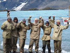 explorers recreate Shackleton's expedition