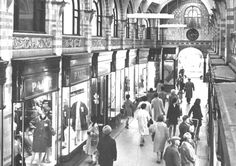 The Royal Arcade Norwich was designed by George Skipper and opened in 1899. It is pictured here in 1967. Photo: Archant Library
