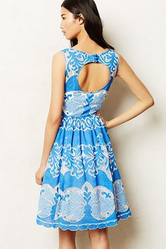 Azure Lace Dress
