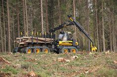 Autocargador forestal - 10w - PONSSE