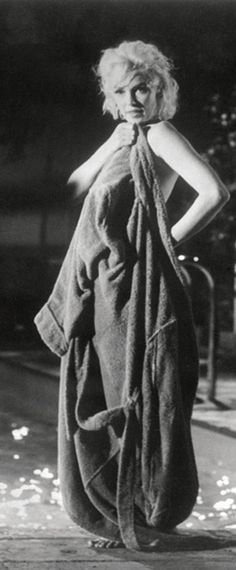 Marilyn on the set of Something\'s Got To Give, 1962.