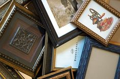 How To Layered Picture Frames 1