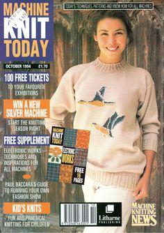 Machine Knit Today Magazine 1994.10 Free PDF Download 300dpi ClearScan OCR