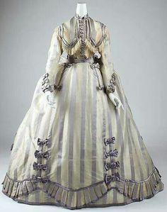 1867-1869 visiting dress ~ The Met