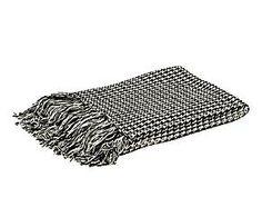 Manta de algodón cuadros escoceses – gris