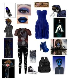 """EJ~The adorable kidney eater!"" by alaina-bolden ❤ liked on Polyvore featuring Boohoo, Marc by Marc Jacobs, Sherpani, JY Shoes, Converse and LASplash"