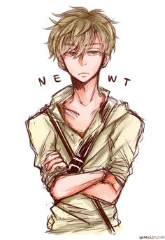 "bamkaituun: "" [010] Doodle - Newt (The Maze Runner) "" This is awesome"