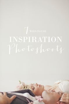 7 ways to use inspiration shoots for your wedding
