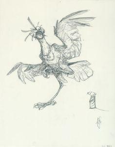Peter de Sève - Illustration originale