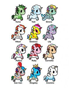 Tokidoki Unicornos Series 4