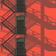 Art And Illustration, Graphic Design Illustration, Illustrations And Posters, Aesthetic Backgrounds, Aesthetic Wallpapers, Expositions, Red Aesthetic, Anime Scenery, Grafik Design