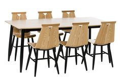 – Design from Scandinavia Dining Table, Woodworking, Interior, Furniture, Design, Home Decor, Chairs, Decoration, Products