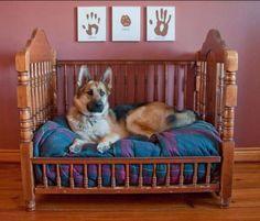 crib repurposing ideas