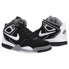 e23dab6c88e0 Athletics Nike Men s Air Flight Falcon Black Cool Grey Whit  FamousFootwear.com Nike