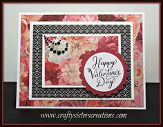 Hello Friends! It's time to start thinking about Valentine's Day! I created a few cards using the beautiful La Vie En Rose paper collection from Close To My Heart. This gorgeous rose …