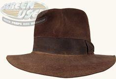 IndyGear.com: Fedora Indiana Jones Fedora, Mens Dress Hats, Fedoras, Steven Spielberg, Harrison Ford, Crystal Skull, Real Men, Hats For Men, Raiders