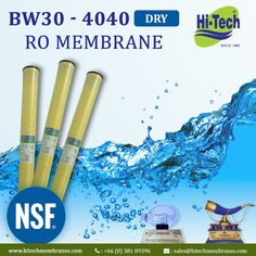 4040 RO Membranes for Water refiling station.http://www.hitechmembranes.com/product/bw30-4040-ro-membrane/