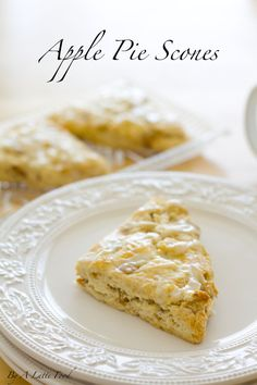 Apple Pie Scones | A Latte Food
