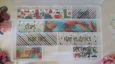 Living Organised: Organising Hair Supplies