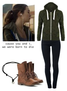 Alicia Clark 2x02 - ftwd / fear the walking dead by shadyannon on Polyvore featuring polyvore fashion style WearAll STELLA McCARTNEY Børn clothing