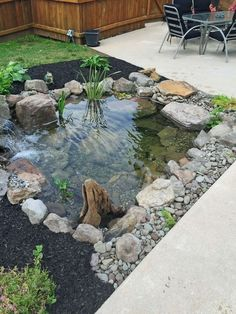 Gorgeous Backyard Ponds and Water Garden Landscaping Ideas (30) #LandscapingIdeas