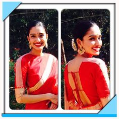 #wedding#mangalore#love#sarees Thank you @vaishalis29 for making this beautiful red chanderi silk