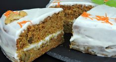 VIDEO : receta de tarta de zanahoria fácil - esta receta deesta receta detarta de zanahoriaamericana o carrot cake es una receta de tarta muy jugosa y aromática, gracias a la humedad . Raspberry Smoothie, Apple Smoothies, Sweet Recipes, Cake Recipes, Dessert Recipes, Carrots N Cake, Sweet Cooking, Food Cakes, Cakes And More
