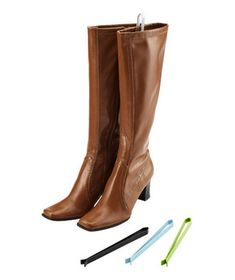 Boot Sticks—to help keep boots upright in your closet.