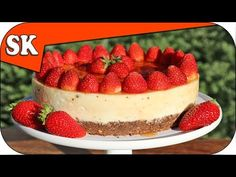 How To Make Magnolia-Inspired Strawberry Cheesecake Bars | Delish & Country Living - YouTube