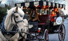 Groupon - $ 15 for a 25-Minute Horse-Drawn Carriage Ride for Two from Camel City Carriage Company ($ 30 Value) in Winston-Salem, (At Old 4th St. Filling Station Restaurant). Groupon deal price: $15.00
