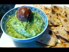 Guacamole - Mexican dip for homemade wheat tortilla chips
