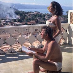 *Liz & Dick Puerto Vallarta filming Night of the Iguana