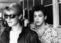 ohmy80s:James Spader / Robert Downey Jr / Tuff Turf