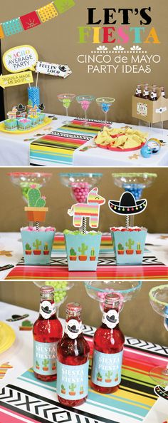 Mexican Fiesta for Cinco de Mayo - May 5th Party Ideas
