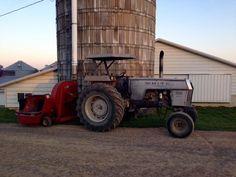 Vintage Tractors, Old Tractors, Old Farm Equipment, Heavy Equipment, Agriculture, Farming, White Tractor, Farm Humor, Farm Life