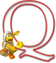Alfabeto Mario Bros..Q
