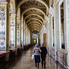 The Raphael Gallery in the #Hermitage #travelwriting #travelblogger #travel #Russia