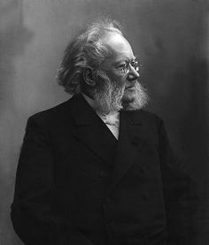 """Henrik Johan Ibsen (March 20, 1828 in Skien – May 23, 1906) was a major 19th-century Norwegian playwright, theatre director, and poet. He is often referred to as """"the father of realism"""" and is one of the founders of Modernism in the theatre. His major works include Brand, Peer Gynt, An Enemy of the People, Emperor and Galilean, A Doll's House, Hedda Gabler, Ghosts, The Wild Duck, Rosmersholm, and The Master Builder. He is the most frequently performed dramatist in the world after…"""