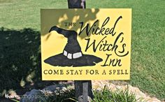 Halloween Yard Sign - Live Creatively Inspired