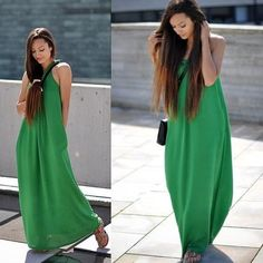 esther!!!! green dress!!