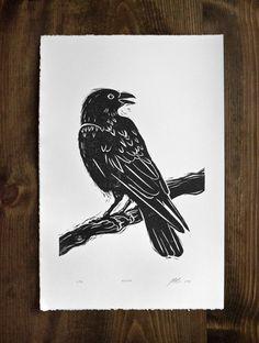 Linocut Prints, Art Prints, Block Prints, Traditional Tattoo Old School, Linoleum Block Printing, Stamp Carving, Chalk Pastels, Bird Art, Animal Drawings