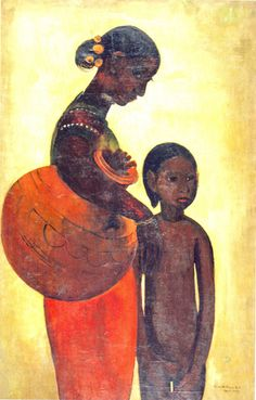 Amrita Sher-Gil - Mother and Child